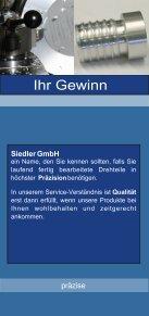 Informationsbroschüre - Eberhard Siedler GmbH - Seite 2