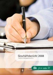 Geschäftsbericht 2008 - Chemnitzer Siedlungsgemeinschaft eG