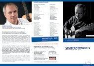 Gitarrenprogramm 2013 (pdf ) - Siegburg