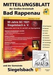 Bad Rappenau - Gemeinde Siegelsbach