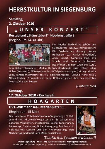 steht das Herbstprorgamm zum Download bereit. - Markt Siegenburg