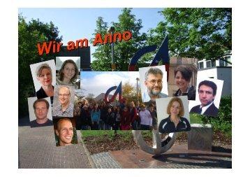 Präsentation des Anno-Gymnasiums (pdf ) - Siegburg