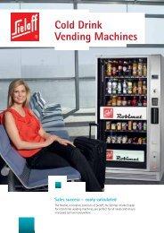 Vending Machines Cold Drink - Sielaff