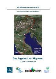Tagebuch der Migration (PDF - Heinz Sielmann Stiftung