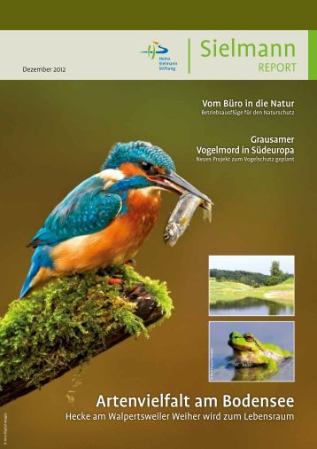 Ausgabe Dezember 2012 - Heinz Sielmann Stiftung