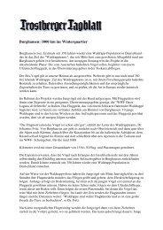 Trostberger Tageblatt vom 11.8.2007 (PDF - Heinz Sielmann Stiftung