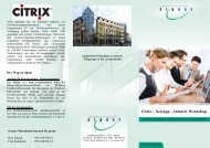 Citrix – XenApp – Intensiv Workshop - signet