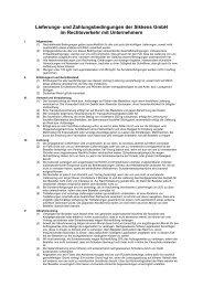 Lieferungs- und Zahlungsbedingungen der Sikkens GmbH im ...