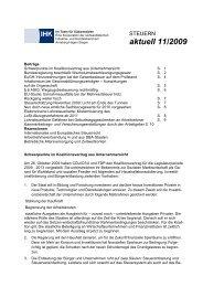 aktuell 11/2009 - Südwestfälische Industrie