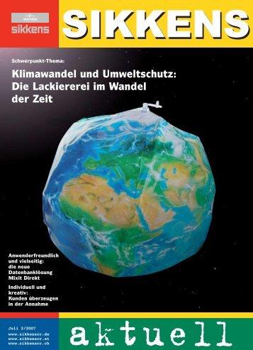 Klimawandel und Umweltschutz:  Die Lackiererei im Wandel der Zeit