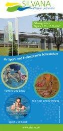 Flyer - Silvana Sport- und Freizeitbad