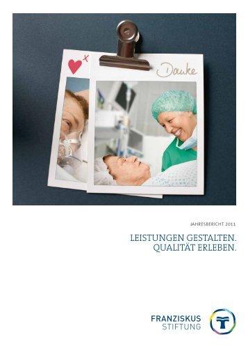 Jahresbericht - St. Franziskus Stiftung