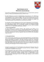 Ausschreibung im pdf-Format.  - Simbach am Inn