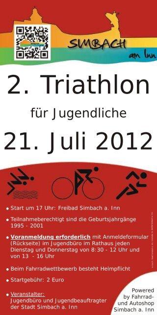 2. Triathlon - Simbach am Inn
