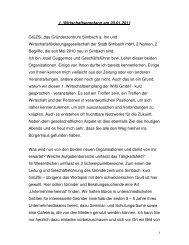 Rede von Geschäftsführer Josef Guggemos beim ... - Simbach am Inn