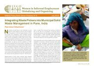 Integrating Waste Pickers into Municipal Solid Waste Management in Pune, India