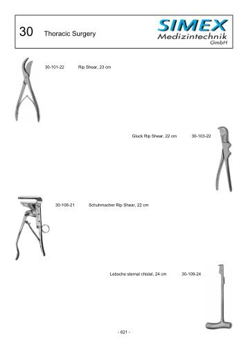 SIMEX Medizintechnik GmbH Product Catalogue