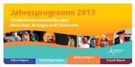 Programm Region Eifel