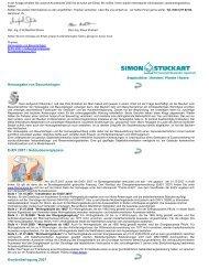 Herausgabe von Bauunterlagen EnEV 2007 / Gebäudeenergiepass ...