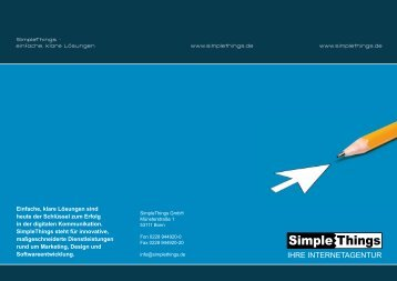 Flyer SimpleThings