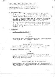 Textliche Festsetzungen zum Bebauungsplan