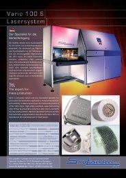 Datenblatt als PDF herunterladen - Siro Lasertec GmbH