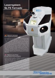 Lasersystem SL75 Tornado - Siro Lasertec GmbH
