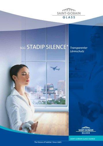 SGG STADIP® SILENCE (1.3 x Mo) - Saint-Gobain Glass