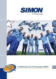 Flyer Ausbildung bei SIMON (pdf) - Simon.de
