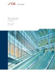 Rule Book[pdf] - SIX Swiss Exchange