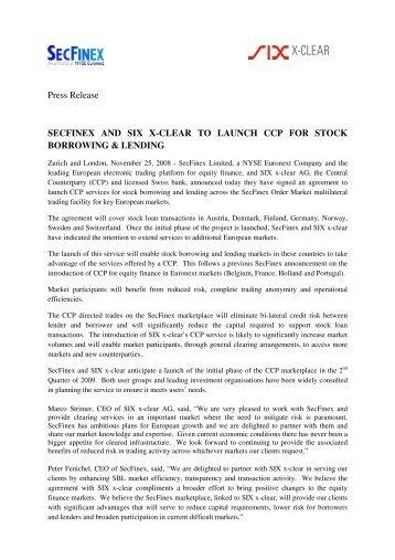 Stock Borrowing and Lending Agreement Registration Form - ç¨ å å±