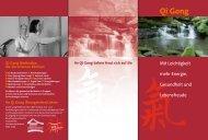 Qi Gong - Shen Men Institut