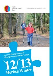 Veranstaltungskalender Herbst/Winter 2012/2013 zum ... - SkF Lingen