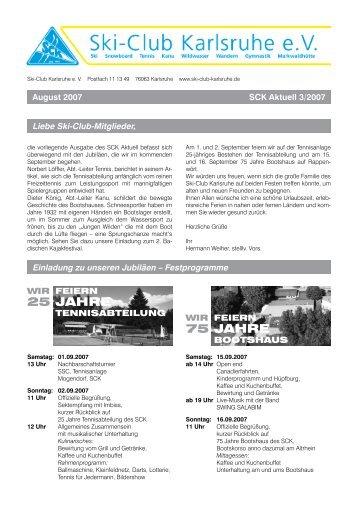25 Jahre 75 Jahre - Ski-Club Karlsruhe eV