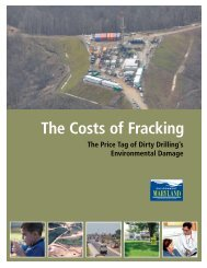 The Costs of Fracking