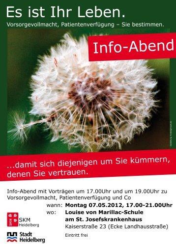 können Sie das Plakat herunterladen! - SKM Heidelberg