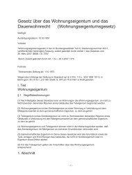 Wohnungseigentumsgesetz - Sky-Trust GmbH