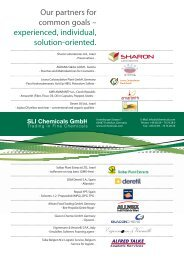Our partners - SLI Chemicals GmbH