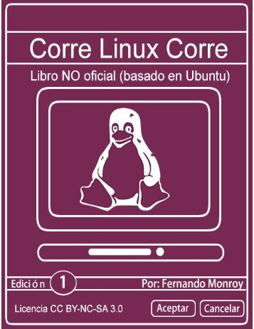 Corre Linux Corre Libro NO oficial basado en Ubuntu Gnu Linux 1