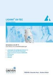 LIGANA UV-TEC - Siab.de