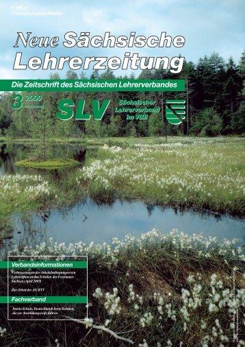 Die Zeitschrift des Sächsischen Lehrerverbandes - Sächsischer ...