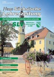 eine Fortbildungs - Sächsischer Lehrerverband