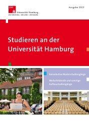 Studieren an der Universität Hamburg