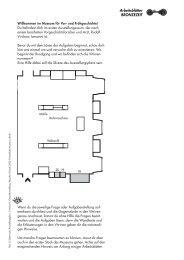 Arbeitsblätter BRONZEZEIT - Staatliche Museen zu Berlin