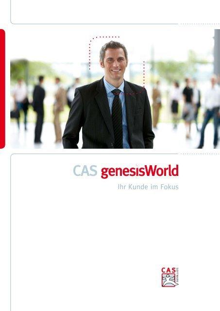 CAS genesisWorld Prospekt - mpl Software GmbH