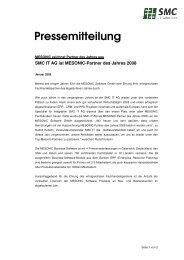 Pressemitteilung - SMC IT AG