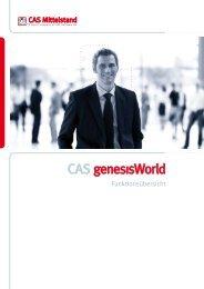 CAS genesisWorld Funktionen - movento