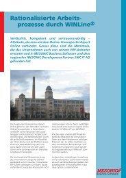 Rationalisierte Arbeits- prozesse durch WINLine® - SMC IT AG