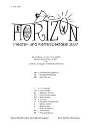 Drehbuch HORIZON - Kindertanztheater