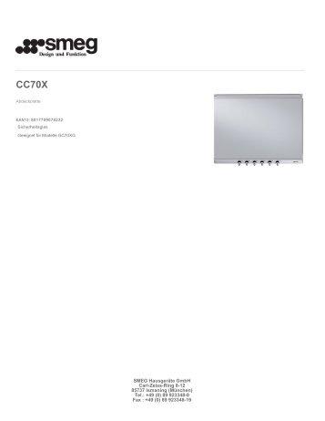 (0) 89 923348-0 Fax : +49 (0)  89 923348-19 - Smeg